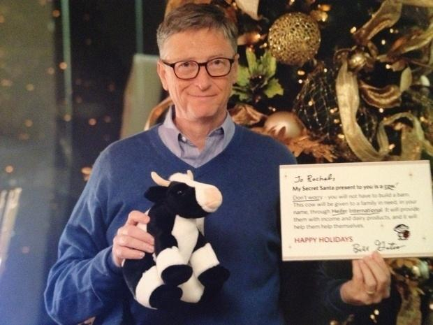 Bill Gates Is Reddit Secret Santa
