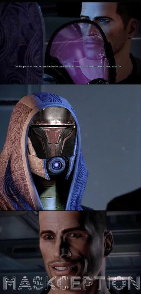 Tali Face - Maskception