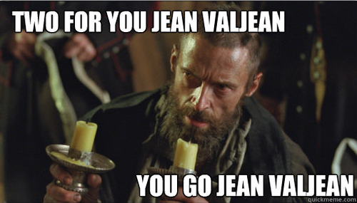 Two For You Jean Valjean