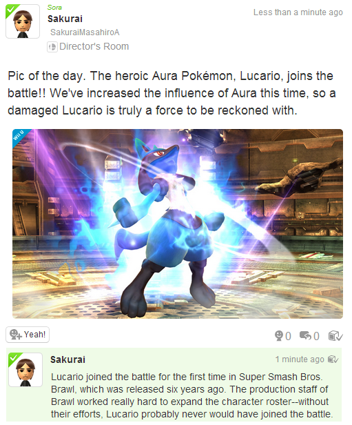 Lucario Pic of the day