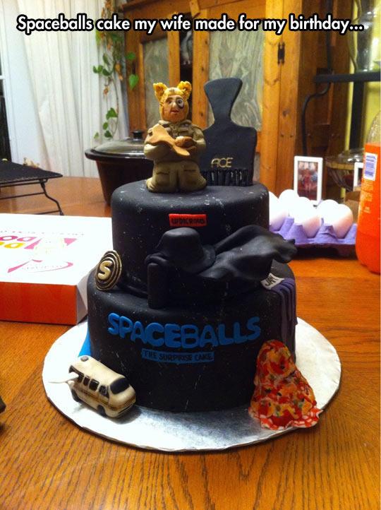 Spaceballs The Birthday Cake