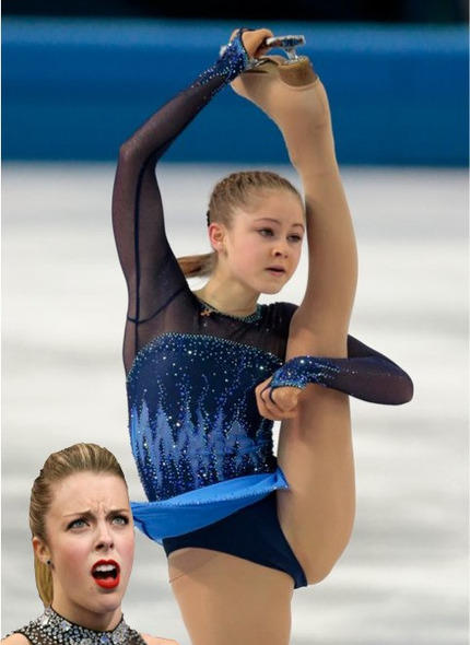 Ashley is Upset by Skating