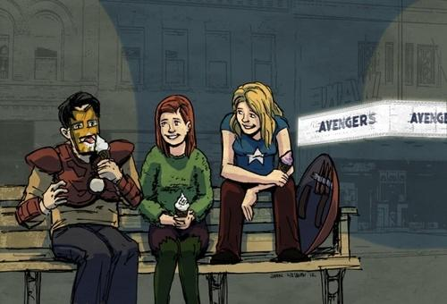 Buffy as The Avengers