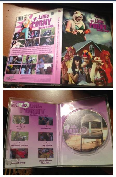My Little Porny DVD
