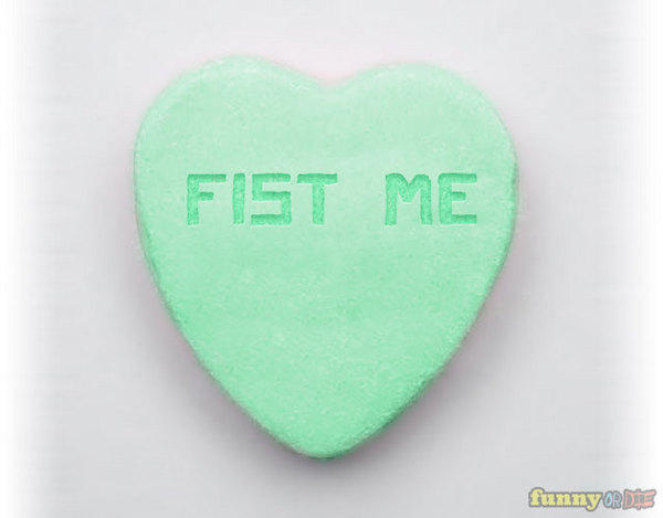 Fist Me Candy Heart