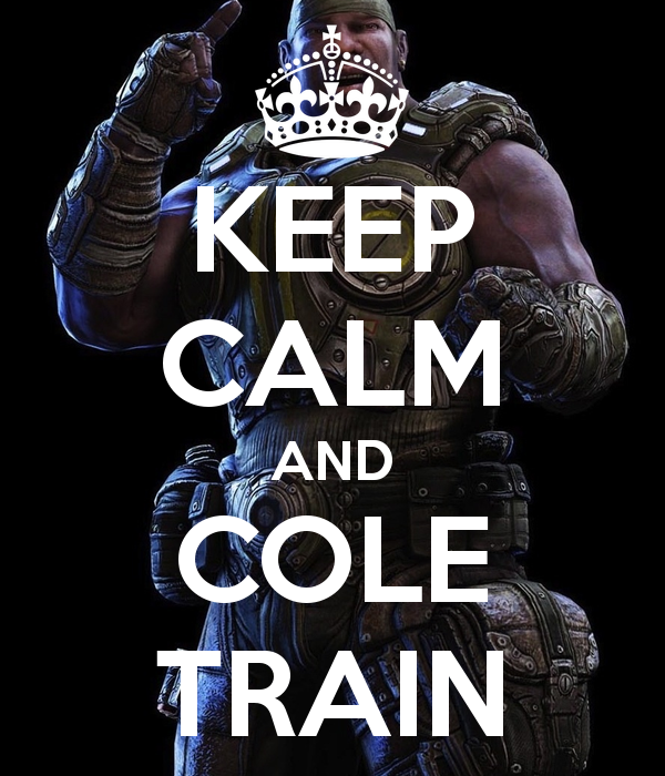 CANT STOP THE COLE TRAIN BABY! WOOOOH!