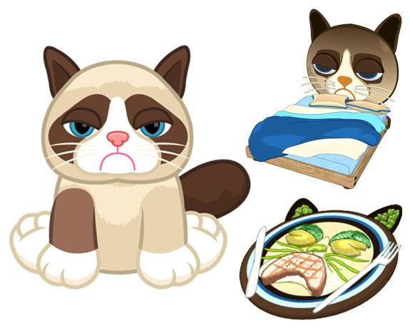 Grumpy Cat coming to Webkinz