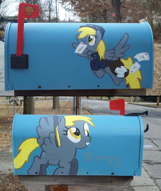 Derpy Mailbox