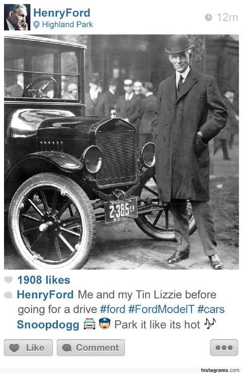 Instagram of Henry Ford