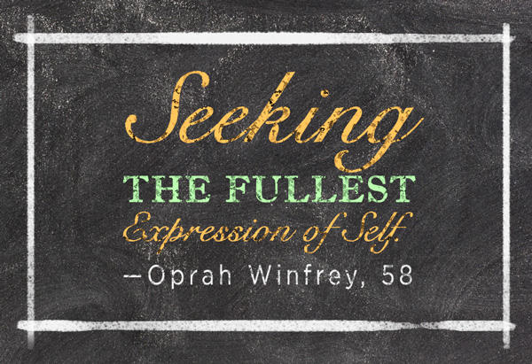 Oprah's Six Word Memoir