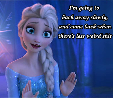 Elsa discovers the internet