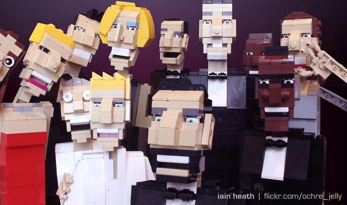 Ellen's Oscars selfie - LEGO edition!