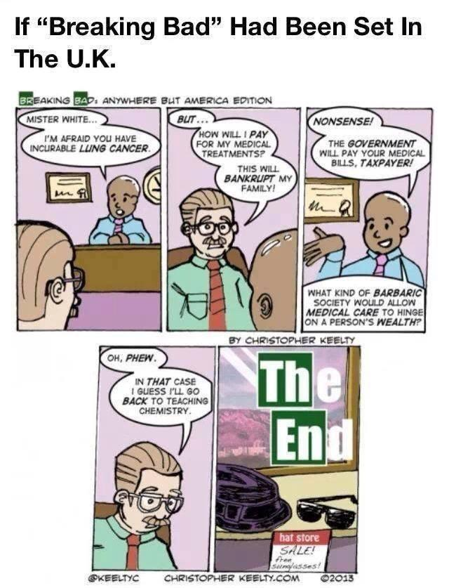 If Breaking Bad Had Been Set In The UK