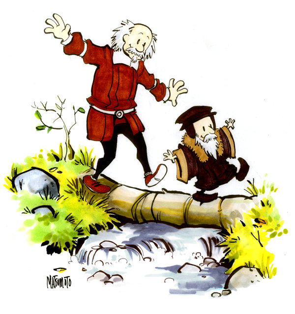 Historical Calvin and Hobbes