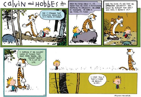Calvin and Hobbes Cross