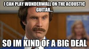 Anchorman Wonderwall