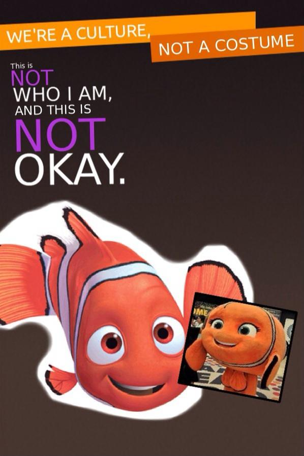 Nemo the Offended Clownfish