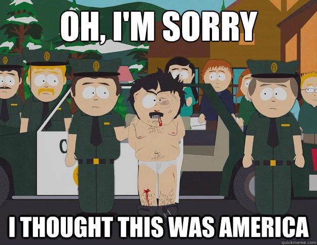 Image result for cartman cop meme