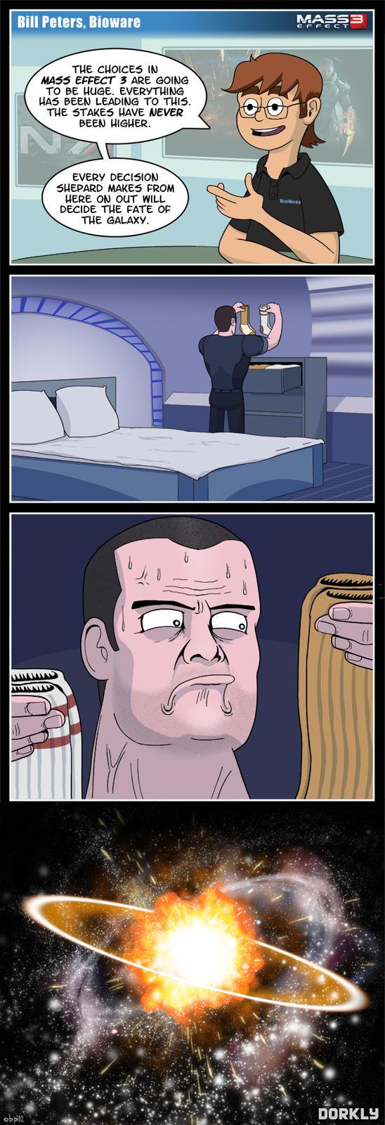 Shepard and socks of fate