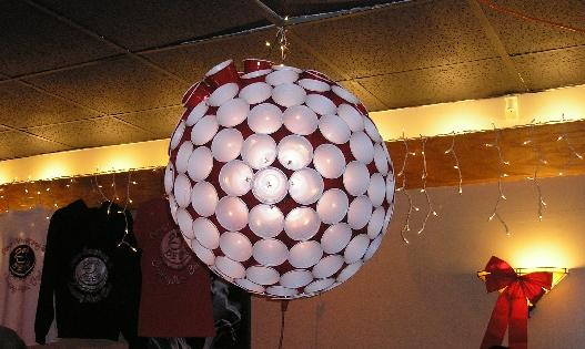 Red Solo Disco Ball
