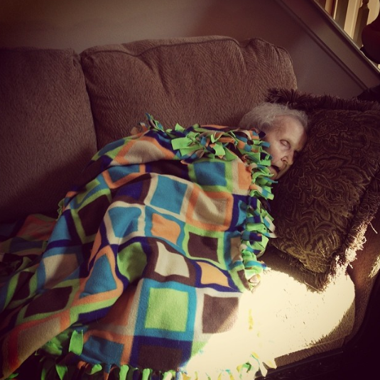 Grandma Sleeping