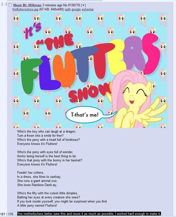 It's The Flutters Show