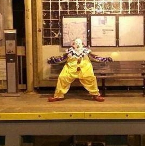 Staten Island Clown Subway