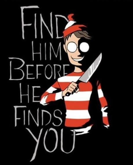 Where's Waldo Knife
