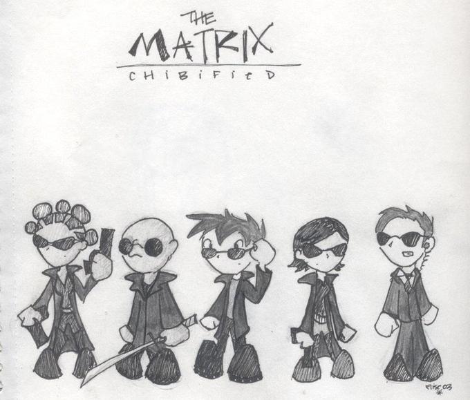 The Matrix Cute