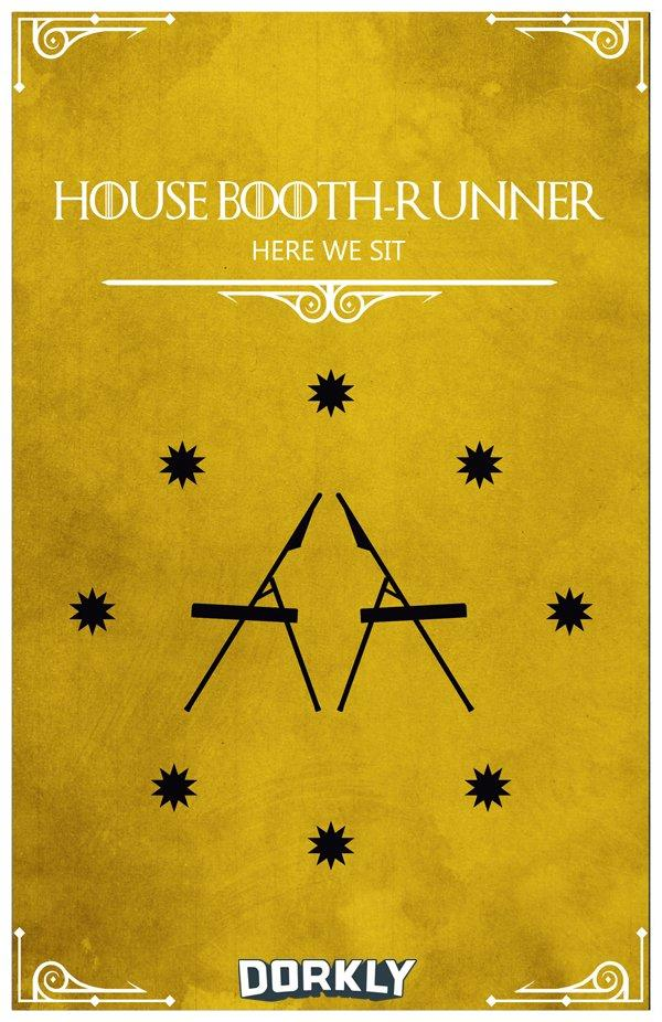 House Booth Runner