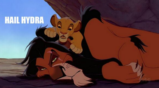 The Lion King Hail Hydra