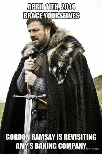 Winter is Coming / Imminent Ned on Ramsay's Revisit