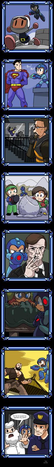 Leaked boss list from Megaman 11