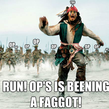 Run Away from the OP Mob!