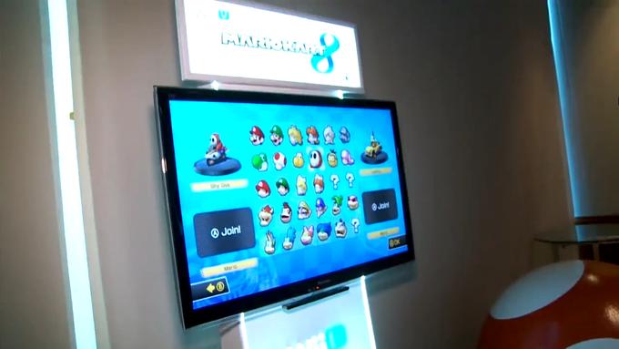 Mario Kart 8 Character Select Screen