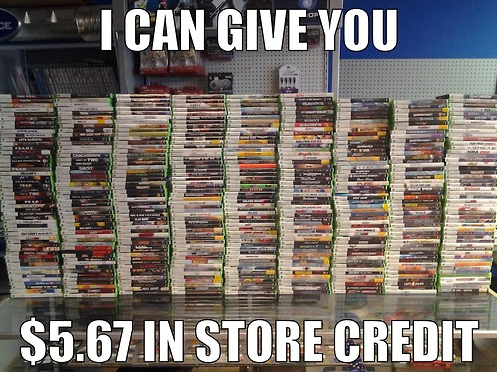 Pre-owned Video Game Trading Logic