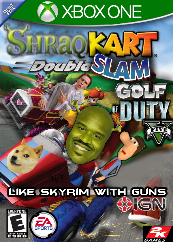 Shrek Cart Double Slam Golf of Duty V