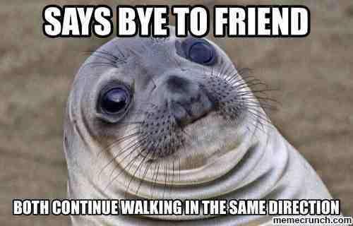 Walking Awkward