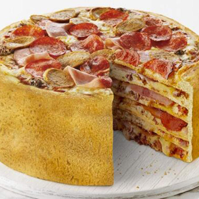 The cake is a lie... But not Pizza Cake!