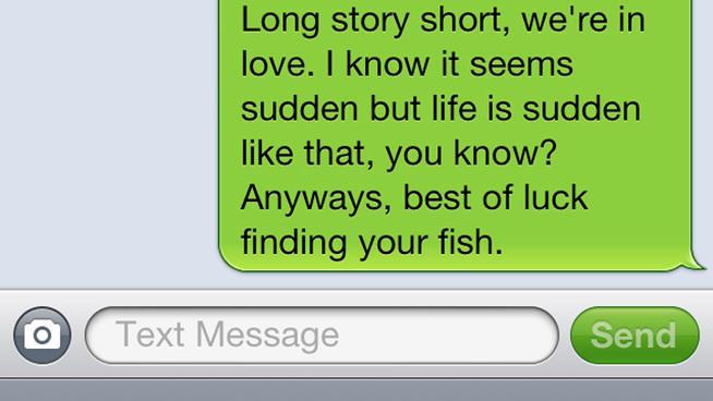 Break-up Text