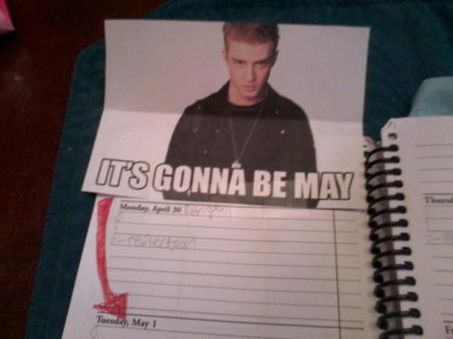 May Date Book
