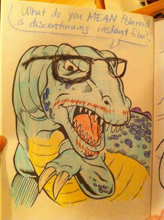Dinosaur Hipster