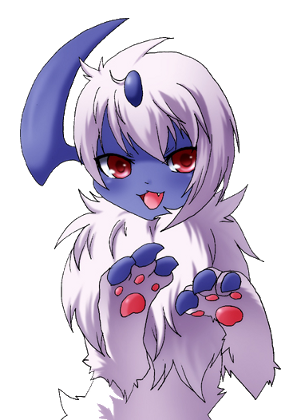Another cute absol..