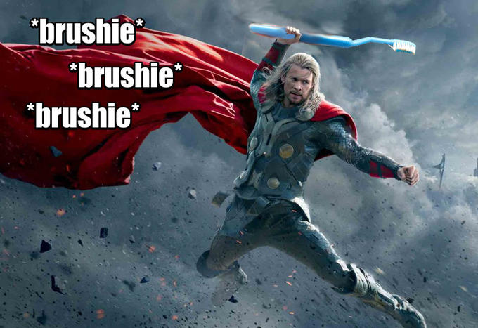 Brushie Brushie Brushie, Thor