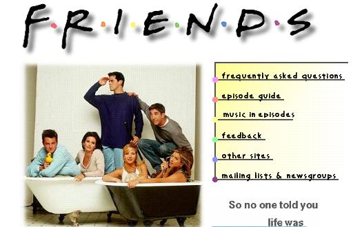 Friends Fan Page