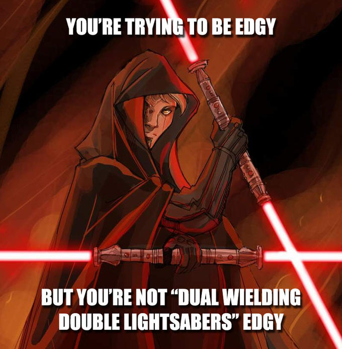How Many Lightsabers In A Trilogy Crossguard Lightsaber