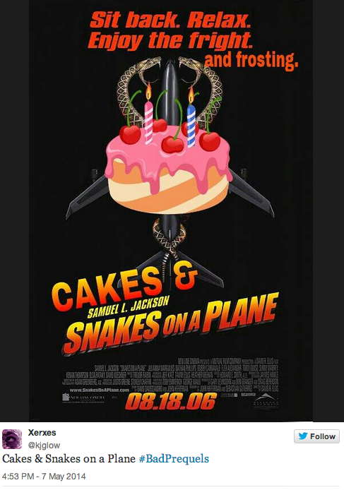 Snakes not on a plane