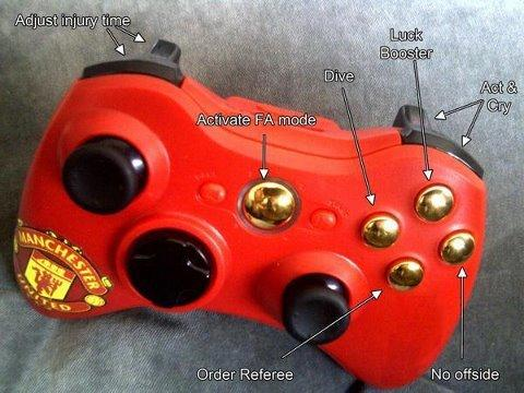 Limited Edition Manchester United Xbox Controller
