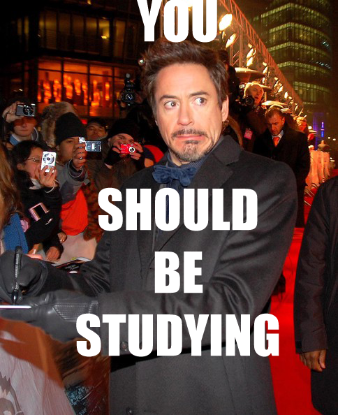 YOU SHOULD BE STUDYING Rob Berlin Doctor Watson Sherlock Holmes
