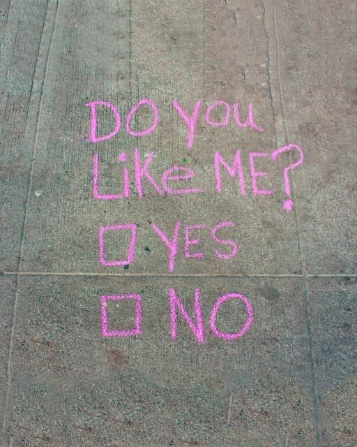 chalk note